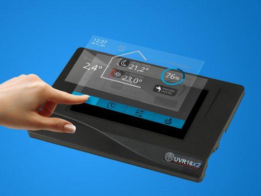 UX/UI-Design Technische Alternative UVR16x2