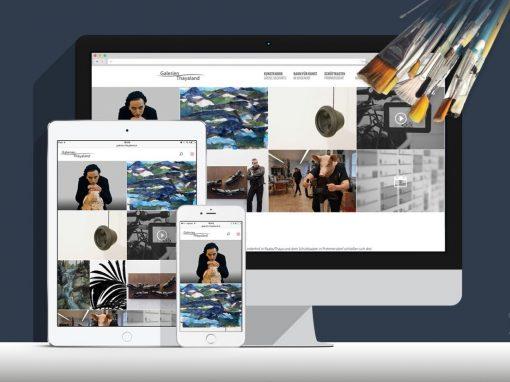 Website Galerien-Thayaland