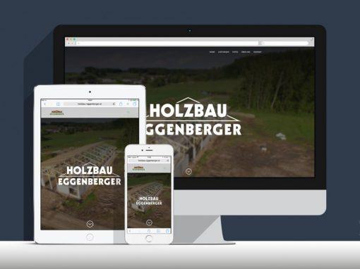 Website Holzbau-Eggenberger