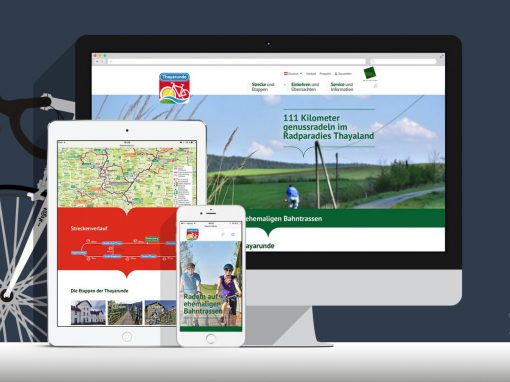Website Radweg Thayarunde